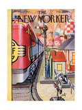 The New Yorker Cover - December 17, 1955 Regular Giclee Print by Arthur Getz