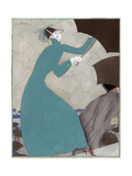 Vogue - October 1921 Regular Giclee Print by Georges Lepape