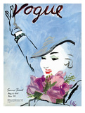 "Vogue Cover - May 1935 Regular Giclee Print by Carl ""Eric"" Erickson"