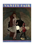 Vanity Fair Cover - February 1929 Giclee Print by Georges Lepape