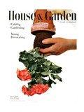 House & Garden Cover - January 1946 Reproduction procédé giclée par Haanel Cassidy