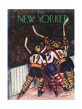 The New Yorker Cover - January 13, 1940 Giclee Print by Victor De Pauw