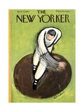 The New Yorker Cover - April 13, 1957 Regular Giclee Print by Abe Birnbaum