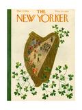 The New Yorker Cover - March 17, 1956 Regular Giclee Print by Ilonka Karasz