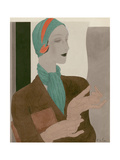 Vogue - February 1931 Regular Giclee Print by William Bolin