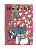 The New Yorker Cover - October 16, 1943 Regular Giclee Print by Ludwig Bemelmans