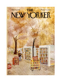 The New Yorker Cover - October 18, 1976 Giclee Print by Charles E. Martin