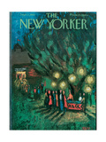 The New Yorker Cover - September 2, 1961 Regular Giclee Print by Robert Kraus