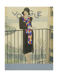 Vogue - September 1928 Regular Giclee Print by Pierre Mourgue
