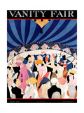 Vanity Fair Cover - March 1921 Reproduction proc&#233;d&#233; gicl&#233;e par A. H. Fish