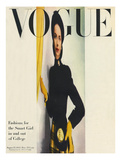 Vogue Cover - August 1945 Regular Giclee Print by Erwin Blumenfeld