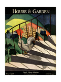House & Garden Cover - July 1927 Regular Giclee Print by Bradley Walker Tomlin