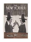 The New Yorker Cover - November 25, 1967 Regular Giclee Print by James Stevenson