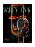 Vanity Fair Cover - April 1931 Giclee Print by Jean Carlu