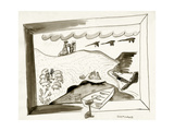 House & Garden - January 1939 Regular Giclee Print by Ludwig Bemelmans