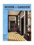 House & Garden Cover - August 1931 Giclee Print by Pierre Brissaud