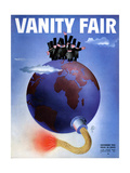 Vanity Fair Cover - November 1933 Regular Giclee Print by  Garretto
