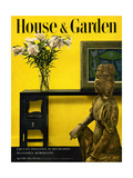 House & Garden Cover - April 1949 Giclee Print by Haanel Cassidy