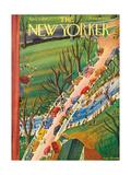 The New Yorker Cover - April 5, 1941 Regular Giclee Print by Roger Duvoisin