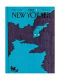 The New Yorker Cover - September 21, 1981 Regular Giclee Print by Arthur Getz