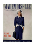Mademoiselle Cover - May 1945 Regular Giclee Print by Fritz Henle