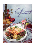 Gourmet Cover - March 1953 Giclee Print by Henry Stahlhut