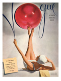 Vogue Cover - May 1941 - Having a Ball Regular Giclee Print by Horst P. Horst