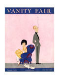 Vanity Fair Cover - January 1923 Regular Giclee Print by A. H. Fish