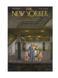 The New Yorker Cover - August 13, 1949 Giclee Print by Edna Eicke
