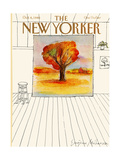 The New Yorker Cover - October 6, 1980 Regular Giclee Print by Eugène Mihaesco