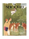 The New Yorker Cover - July 10, 1943 Regular Giclee Print by William Cotton