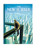The New Yorker Cover - May 18, 2009 Regular Giclee Print by Eric Drooker