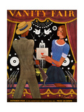 Vanity Fair Cover - October 1930 Giclee Print by Georges Lepape