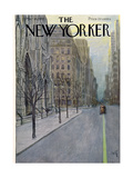 The New Yorker Cover - March 16, 1957 Giclee Print by Arthur Getz