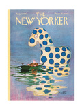 The New Yorker Cover - August 10, 1968 Giclee Print by Mischa Richter
