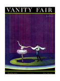 Vanity Fair Cover - December 1920 Regular Giclee Print by William Bolin
