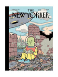 The New Yorker Cover - June 8, 2009 Regular Giclee Print by Dan Clowes