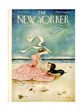 The New Yorker Cover - August 4, 1945 Reproduction procédé giclée par Mary Petty