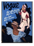 Vogue Cover - July 1932 Regular Giclee Print by William Bolin
