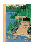 The New Yorker Cover - August 4, 1951 Giclee Print by Charles E. Martin