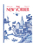 The New Yorker Cover - July 23, 1990 Regular Giclee Print by Pamela Paparone