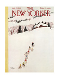 The New Yorker Cover - January 27, 1962 Regular Giclee Print by Susanne Suba