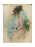 Vogue - May 1908 Regular Giclee Print by Stuart Travis