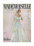 Mademoiselle Cover - February 1951 Regular Giclee Print by  Somoroff