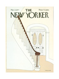 The New Yorker Cover - March 21, 1977 Regular Giclee Print by Gretchen Dow Simpson