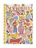 The New Yorker Cover - August 19, 1944 Regular Giclee Print by Ilonka Karasz