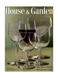House & Garden Cover - November 1945 Regular Giclee Print by Haanel Cassidy