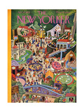 The New Yorker Cover - July 29, 1944 Regular Giclee Print by Tibor Gergely