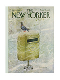 The New Yorker Cover - January 8, 1966 Regular Giclee Print by Laura Jean Allen
