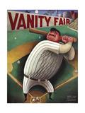 Vanity Fair Cover - September 1933 Giclee Print by Miguel Covarrubias